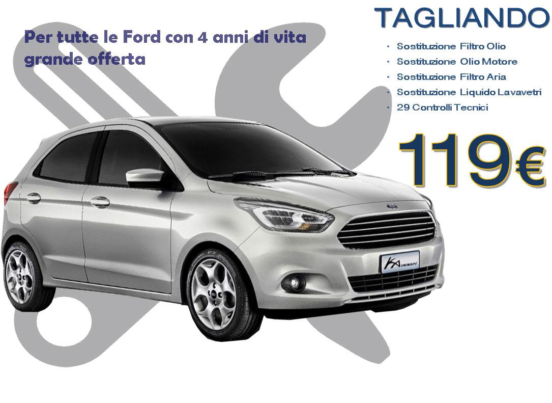 Promo tagliando per auto ford con pi di 4 anni bs for Filtro per cabina di fusione ford