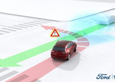 Meno incidenti da angolo cieco  con Ford Kuga, grazie al sistema Blind Spot Assist