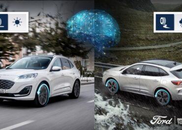 Ford Kuga Hybrid  l'intelligenza artificiale per ottimizzare i consumi e l'aderenza